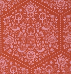 Clementine PWHB057 Red Summerhouse by Heather Bailey for Free Spirit