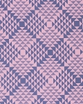 Atrium PWJD113 Pink Pyramids by Joel Dewberry for Free Spirit