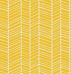 True Colors PWTC007 Yellow Herringbone by Free Spirit EOB