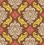 True Colors PWTC009 Maple Damask by Joel Dewberry for Free Spirit