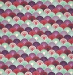 Elizabeth PWTP066 Plum Chainmail by Tula Pink for Free Spirit