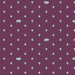 Spirit Animal PWTP101 Lunar Bear Hug by Tula Pink for Free Spirit