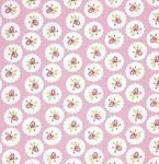 Lulu Roses PWTW094 Pink Lotti by Tanya Whelan for Free Spirit