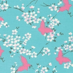 Chloe PWTW100 Sky Butterfly by Tanya Whelan for Free Spirit EOB