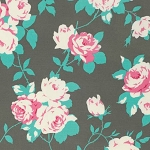 Chloe PWTW101 Sky Rose Vine by Tanya Whelan for Free Spirit
