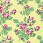 Snapshot  PWVM114 Butter Floral Romance by Free Spirit