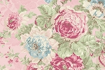 RURU Bouquet RU2200-11B Pink Large Floral by Quilt Gate EOB