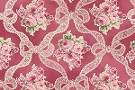 RURU Bouquet RU2200-13E Rose Ribbons and Roses by Quilt Gate EOB FQ