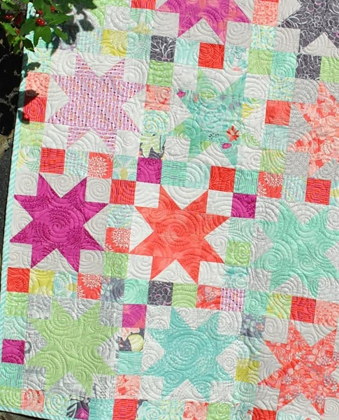 Sara's Star Quilt Pattern - Sweet Jane : star quilt pattern - Adamdwight.com