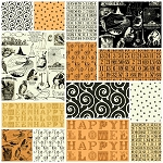 Sew Scary 14 Fat Quarter Set by Quilting Treasures