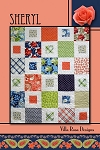 Sheryl Quilt Pattern by Villa Rosa Designs