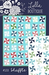 Shuffle Quilt Pattern by Lella Boutique