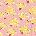 Sidewalks C3481 Pink Floral by October Afternoon for Riley Blake