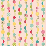Sidewalks C3483 Pink Marbles by October Afternoon for Riley Blake