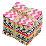 Small Chevron 24 Fat Quarter Bundle by Riley Blake
