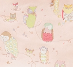 Spotted Owl 6974-F Pale Pink by Alexander Henry