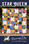 Star Queen Quilt Pattern by Running Doe Quilts