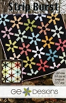 Strip Burst Quilt Pattern by G.E. Designs