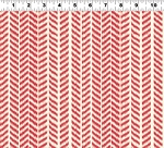 Summerland Y1471-4 Red Herringbone by Clothworks EOB