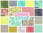 Sunshine Serenade 18 Fat Quarter Set by Iza Pearl Design for Windham