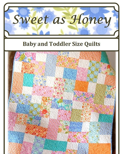 Carlene Westburg Quilt Pattern - Sweet as Honey | The Quilted Castle : quilted castle - Adamdwight.com