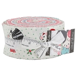 Sweet Christmas Jelly Roll by Urban Chiks for Moda