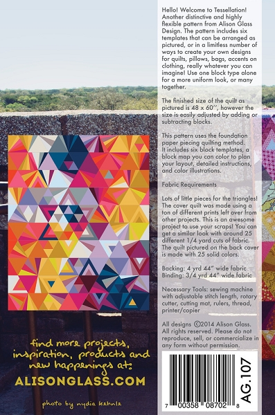 Tessellation Quilt Pattern by Alison Glass : tessellation quilt - Adamdwight.com
