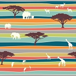 Serengeti Organic SG-02 The Plains Stripe by Birch EOB
