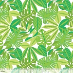See You Later 101.126.02.2 White Tropical Foliage by Blend