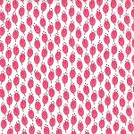 Color Me Happy 10822-12 Pink Sprouts by V & Co for Moda EOB