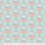 Hill and Dale 113.113.03.1 Aqua Belle by Ana Davis for Blend