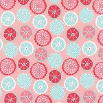 Coral Queen of the Sea 20514-15 Pink Coral Kaleidoscope by Moda