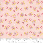 Howdy 20554-18 Pink Horseshoe Dreams by Stacy Iest Hsu for Moda