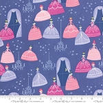 Once Upon a Time 20593-20 Periwinkle Grand Ball by Moda