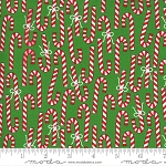 Merry & Bright 22402-12 Evergreen Merry Canes by Moda