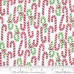 Merry & Bright 22402-13 Winter White Merry Canes by Moda