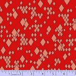 Mostly Manor 2285-0111 Red Leo by Marcus Fabrics