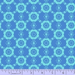 Mostly Manor 2288-0150 Blue Mary by Marcus Fabrics