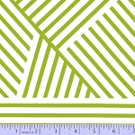 Mostly Manor 2289-0117 Green Manor Stripe by Marcus Fabrics