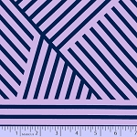 Mostly Manor 2289-0135 Purple/Navy Manor Stripe by Marcus Fabrics