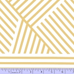 Mostly Manor 2289-0782 White/Gold Metallic Manor Stripe by Marcus