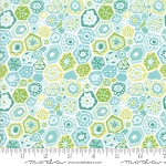 Grand Canal 27254-23 Aqua Millefiori by Kate Spain for Moda