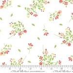 Sundrops 29011-11 White Blossoms by Corey Yoder for Moda