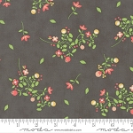 Sundrops 29011-25 Dark Taupe Blossoms by Corey Yoder for Moda