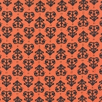 Spooky Delight 2904-11 Pumpkin Midnight Ravens by Moda