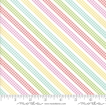 Sunnyside Up 29058-11 Multi Bias Gingham Stripe by Moda