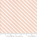 Sunnyside Up 29058-25 Coral Bias Gingham Stripe by Moda
