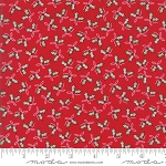 Sugar Plum Christmas 2911-11 Candy Red Holly Trees by Moda