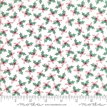 Sugar Plum Christmas 2911-12 White Holly Trees by Moda