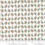 Sugar Plum Christmas 2914-12 White Gingerbread by Bunny Hill for Moda